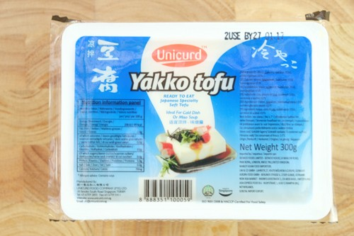 UNICURD Tofu Hiya Yakko  Blue 300gr
