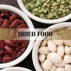 Tørrede fødevarer