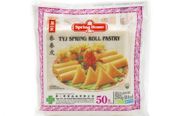 Spring Roll Pastry 125 mm (50 sheets)
