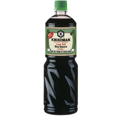 Kikkoman Soy Sauce Less Salt  1000ml