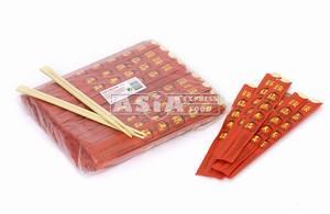 Red Wrap Bamboo Chopsticks