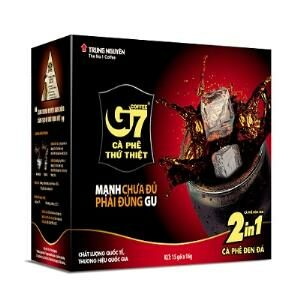 Trung Nguyen G7 Black Instant Coffee 2 in 1