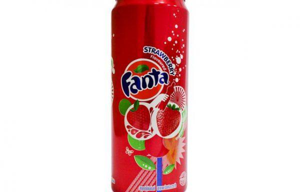 FANTA DRINK STRAWBERRY 250 ML