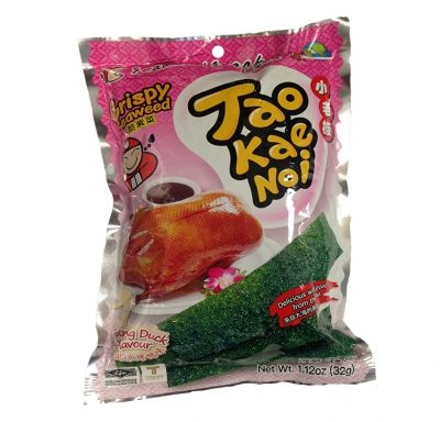 Taokaenoi . Seaweed Snacks Peking Duck