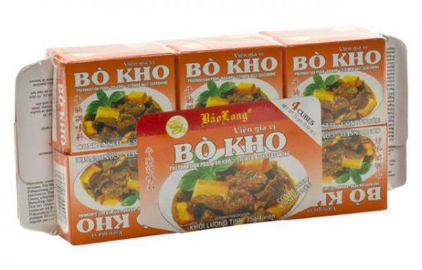 BAO LONG Bo Kho (Beef) cubes 75 G