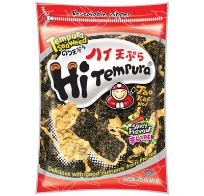 Taokaenoi Tempura Seaweed Snacks Spicy