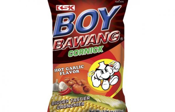 B.B Garlic Corn Snacks (hot) 100 G