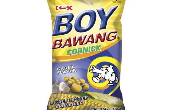 B.B Garlic Corn Snacks  100 G