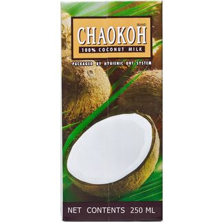 CHAO-KOH  Coconut Milk (UHT) 17% Fat  250 ML