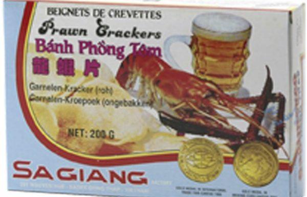 Prawn Crackers (raw, 9.8% prawns) 200 G