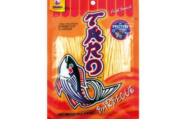 Taro Bbq Fish Snack 52 G