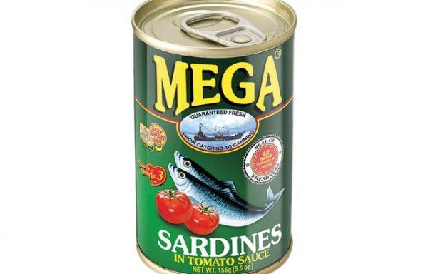 Mega Sardines in Tomato Sauce 155 G