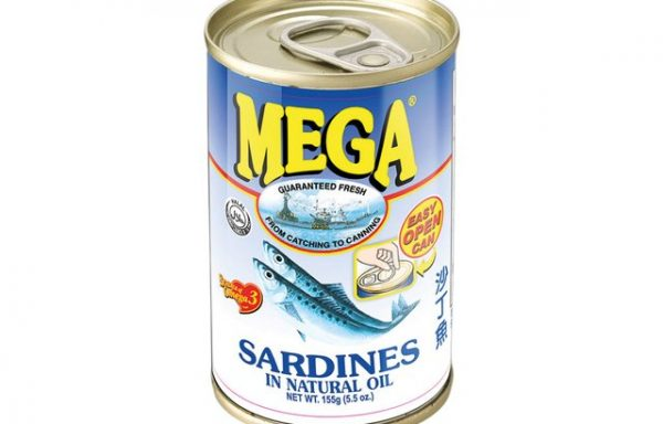 Mega Sardines in Oil  155 G