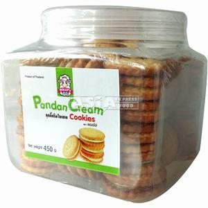 DOLLY'S  Pandan Cream Cookies 450 GR