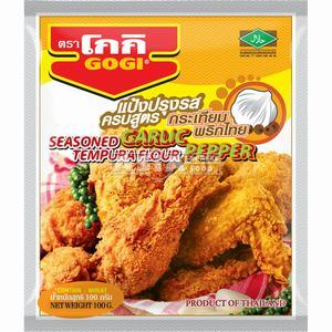 GOGI  Tempura Flour Garlic & Pepper 100 GR