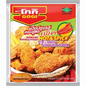 GOGI  Tempura Flour Hot & Spicy  100 GR