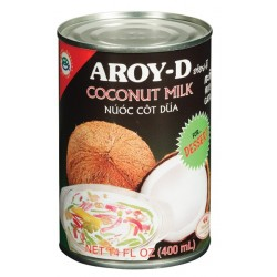 AROY-D  Coconut Milk for Desserts  400 ML
