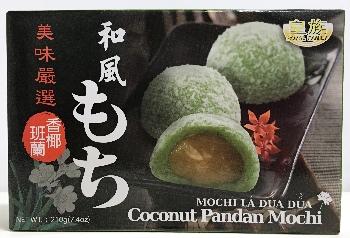ROYAL FAMILY  Mochi Coconut Pandan 210 GR