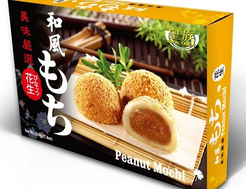 ROYAL FAMILY  Mochi Peanut 210 GR