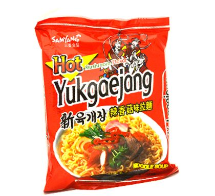 SamYang   Ramen Noodle Hot Mushroom