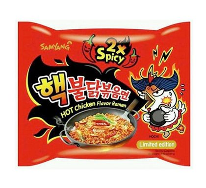 SamYang  Noodle (2x Spicy Hot Chicken)