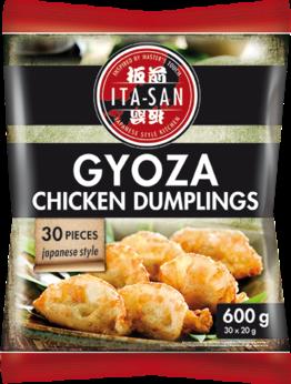 Dumpling with chicken, Gyoza