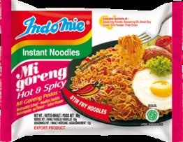 Instant noodles, Mi Goreng Pedas, Hot  INDOMIE