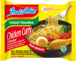 Instant noodles, Chicken Curry,  INDOMIE