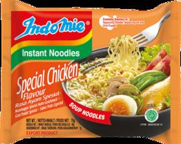 Instant noodles, Chicken special, Rasa Ayam  INDOMIE