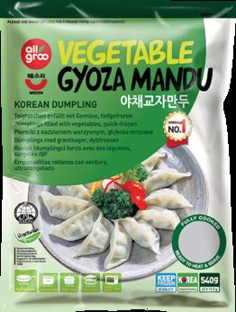 Dumpling with vegetable, Gyoza