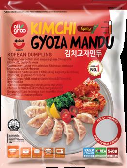 Dumpling Kim Chi, Gyoza
