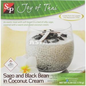 S&P  Sago Black Beans Coconut