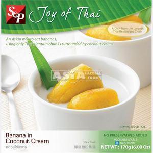 S&P  Banana in Coconut Cream