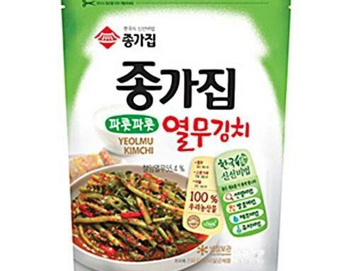 JONGGA  Yeolmu Kimchi  500gr 7°C