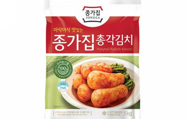 JONGGA Chonggak Kimchi Rettich 500gr 7°C