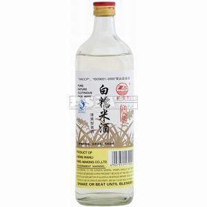 ZW White Rice Wine 12% Alc.
