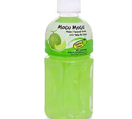 Mogu Mogu Melon Drink with Nata de Coco 320ml