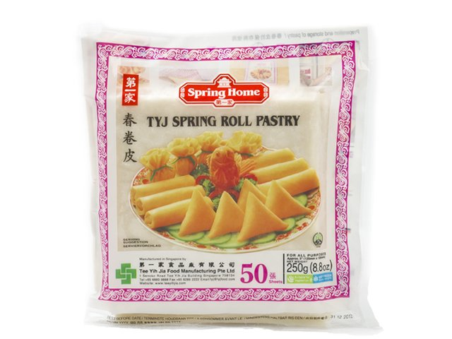 spring roll pastry 125 mm 50 sheets  vejle asian food
